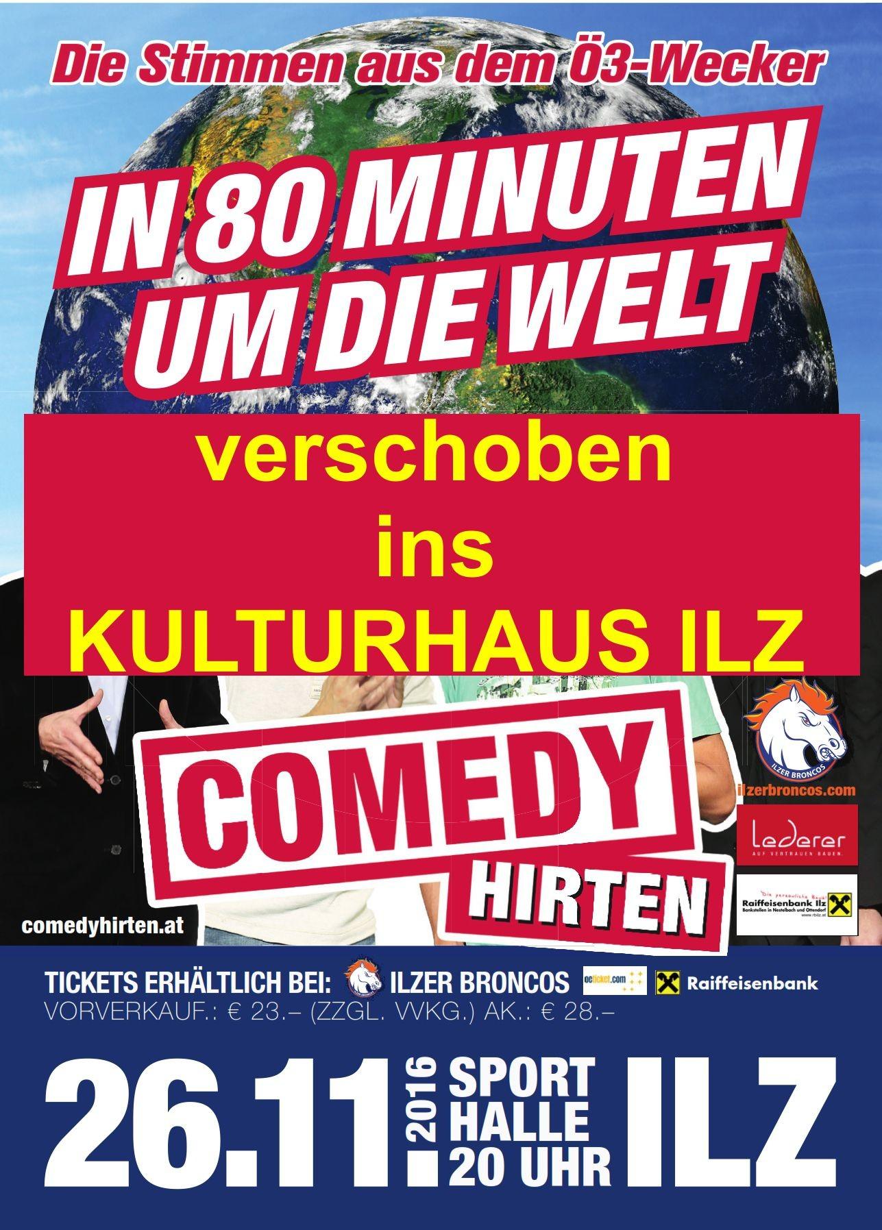 comedyhirten flyer KUHA